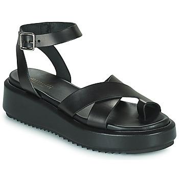 Schoenen Dames Sandalen / Open schoenen Minelli HESSYA Zwart