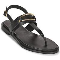 Schoenen Dames Sandalen / Open schoenen Minelli LIZA Zwart