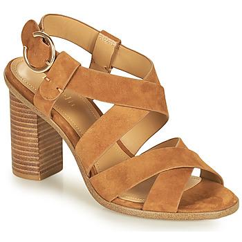 Schoenen Dames Sandalen / Open schoenen Minelli CLAVIA Brown