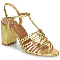 Schoenen Dames Sandalen / Open schoenen Minelli THERENA Goud