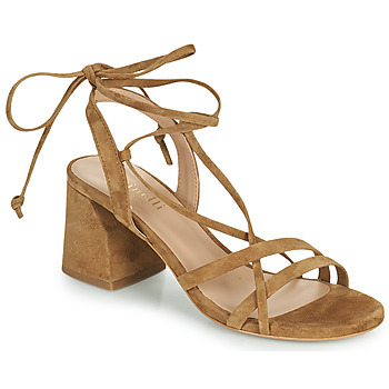 Schoenen Dames Sandalen / Open schoenen Minelli TATIA Brown