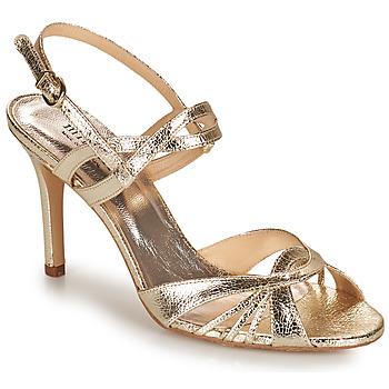 Schoenen Dames Sandalen / Open schoenen Minelli TULLYE Goud
