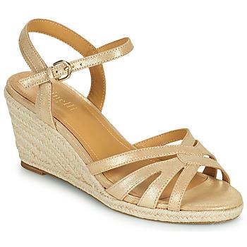 Schoenen Dames Sandalen / Open schoenen Minelli TERENSSE Beige