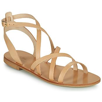 Schoenen Dames Sandalen / Open schoenen Minelli HOULLY Beige