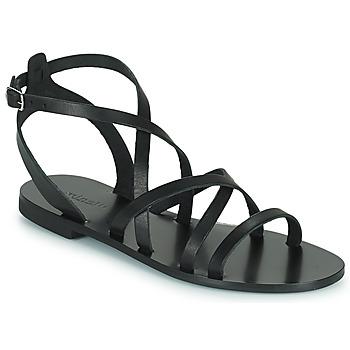 Schoenen Dames Sandalen / Open schoenen Minelli HOULLY Zwart