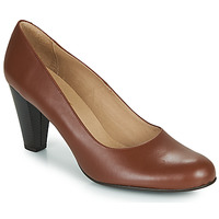 Schoenen Dames pumps So Size SEROMALOKA Brown
