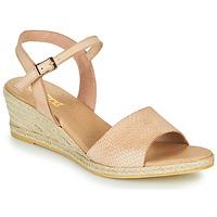 Schoenen Dames Sandalen / Open schoenen So Size OTTECA Beige