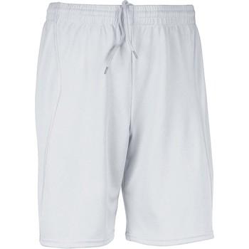 Textiel Heren Korte broeken / Bermuda's Proact Short  Multisport blanc