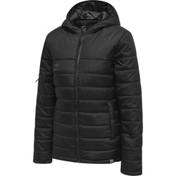 Textiel Dames Dons gevoerde jassen Hummel Veste femme  Quilted North noir/gris anthracite