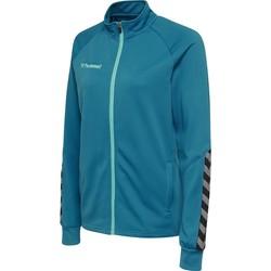 Textiel Dames Trainings jassen Hummel Veste femme  Zip hmlAUTHENTIC Poly bleu