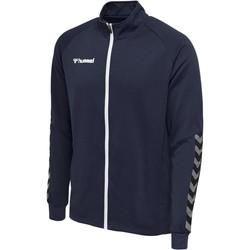 Textiel Heren Trainings jassen Hummel Veste  Zip hmlAUTHENTIC Poly bleu marine