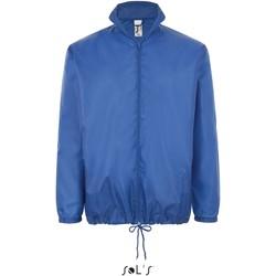 Textiel Windjacken Sol's Coupe-vent  Shift bleu royal