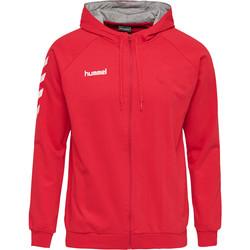 Textiel Heren Trainingspakken Hummel Veste zippé  Hmlgo rouge/blanc/gris