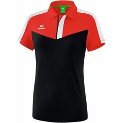 Textiel Dames Polo's korte mouwen Erima Polo femme  Squad rouge/noir/blanc