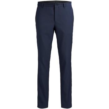 Textiel Heren Anzughosen Jack & Jones Pantalon  Solaris bleu foncé