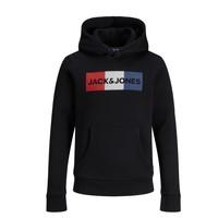 Textiel Jongens Sweaters / Sweatshirts Jack & Jones JJECORP LOGO PLAY SWEAT Zwart