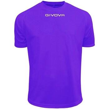 Textiel Heren T-shirts korte mouwen Givova One Violet