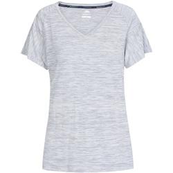 Textiel Dames T-shirts korte mouwen Trespass  Denimstreep