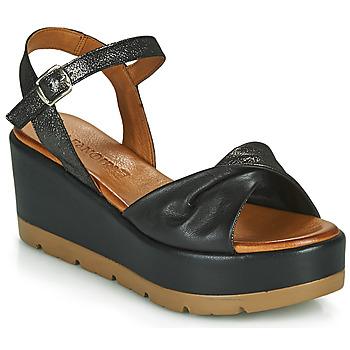 Schoenen Dames Sandalen / Open schoenen Café Noir HOLISTA Zwart