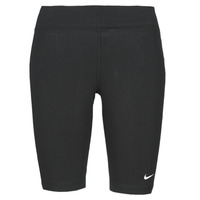 Textiel Dames Leggings Nike NSESSNTL MR BIKER SHORT Zwart / Wit