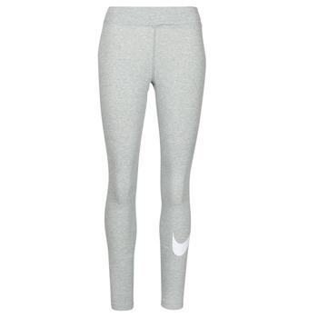 Textiel Dames Leggings Nike NSESSNTL GX MR LGGNG SWSH Grijs / Wit