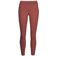Textiel Dames Leggings Nike NSESSNTL 7/8 MR LGGNG Brown / Wit