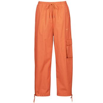 Textiel Dames Trainingsbroeken Nike NSICN CLASH PANT CANVAS HR Brown / Orange