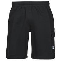 Textiel Heren Korte broeken / Bermuda's Nike NSCLUB BB CARGO SHORT Zwart