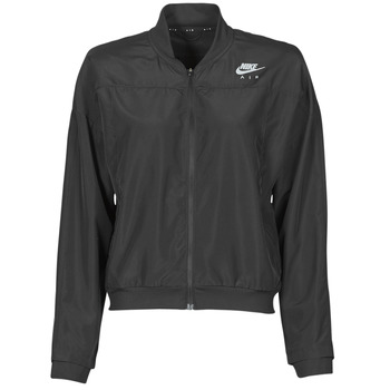 Textiel Dames Windjacken Nike AIR JACKET Zwart / Zilver