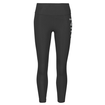 Textiel Dames Leggings Nike AIR EPIC FAST TGHT 7_8 Zwart / Zilver