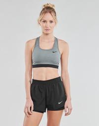 Textiel Dames Sport BHs Nike DF SWSH BAND NONPDED BRA Grijs / Zwart