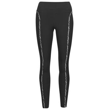 Textiel Dames Leggings Nike NIKE ONE LUXE ICNCLSH TGT Zwart / Violet