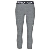Textiel Dames Leggings Nike NIKE PRO 365 TIGHT CROP Grijs / Wit