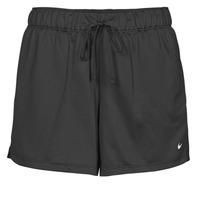 Textiel Dames Korte broeken / Bermuda's Nike DF ATTACK SHRT Zwart / Wit