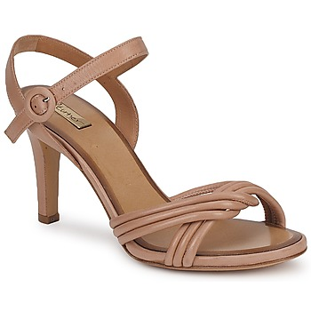 Schoenen Dames Sandalen / Open schoenen Eva Turner  Brown / Glacé
