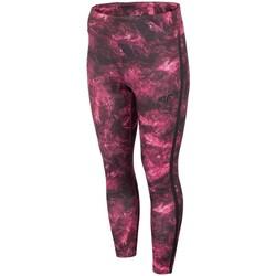 Textiel Dames Broeken / Pantalons 4F SPDF010 Bordeaux