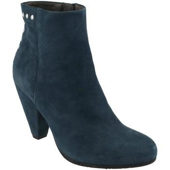 Schoenen Dames Enkellaarzen She - He  Azul