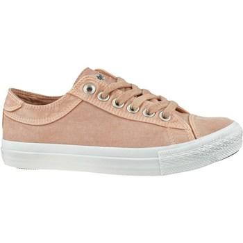 Schoenen Dames Lage sneakers Lee Cooper LCWL2031012 Blanc, Rose