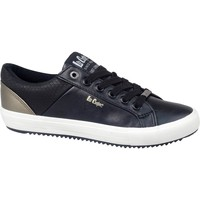 Schoenen Heren Lage sneakers Lee Cooper LCJL2031041 Noir, Doré