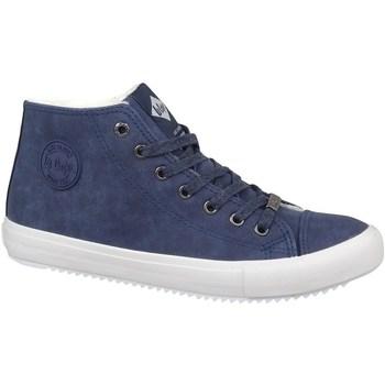 Schoenen Heren Hoge sneakers Lee Cooper LCJL2031012 Bleu marine