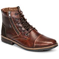 Schoenen Heren Laarzen Rieker  Brown