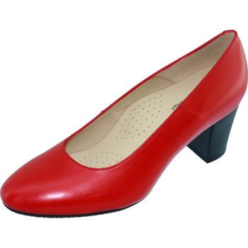Schoenen Dames pumps Les Escarpins D'hotesses Voltige Alarm Free Pompen Stewardess Rood