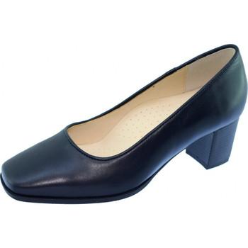 Schoenen Dames pumps Les Escarpins D'hotesses Barbade Alarm Free Pompen Stewardess Marineblauw