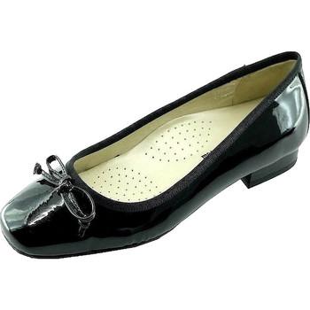 Schoenen Dames Ballerina's Les Escarpins D'hotesses Squirel Alarm Free Ballerina's Stewardess Zwart
