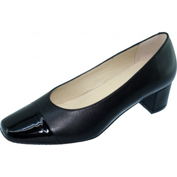 Schoenen Dames pumps Angelina Winnie Pompen Stewardess Zwart