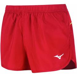 Textiel Dames Korte broeken / Bermuda's Mizuno Short femme  Premium JPN Split rouge/rouge