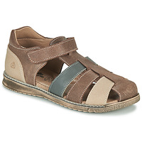 Schoenen Jongens Sandalen / Open schoenen Citrouille et Compagnie FRINOUI Brown