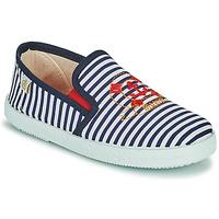 Schoenen Jongens Lage sneakers Citrouille et Compagnie OCILO Marine