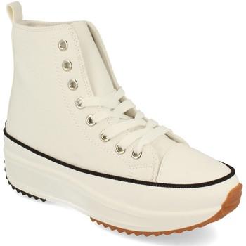 Schoenen Dames Hoge sneakers Buonarotti 1AP-1048 Blanco