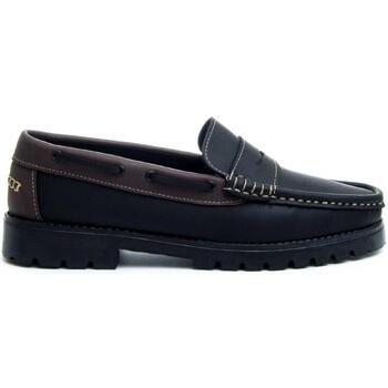 Schoenen Heren Mocassins Montevita 68078 BLACK